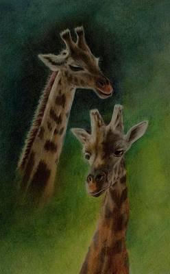 Giraffe Giraffe Poster