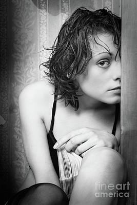 Girl #7842 Poster by Andrey Godyaykin
