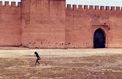 Girl In Marrakesh  Poster by Erik Falkensteen