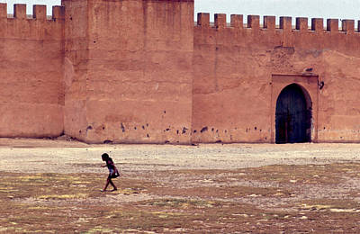 Girl In Marrakesh  Poster