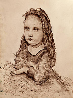 Girl Poster by Thea Dimitrova