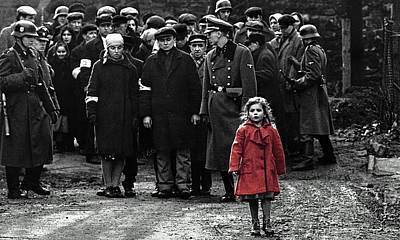 Girl With Red Coat Publicity Photo Schindlers List 1993 Poster