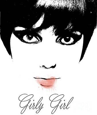 Girly Girl Poster