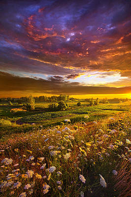 Give Me A Reason To Believe Poster by Phil Koch