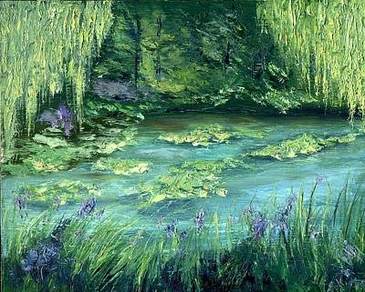 Giverny Poster by Gail Kirtz