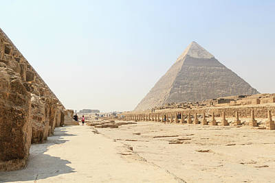 Poster featuring the photograph Giza by Silvia Bruno