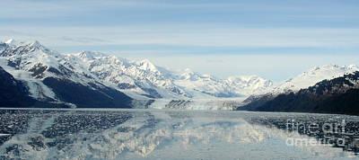 Glacier Bay Reflections Poster by Susan Lafleur
