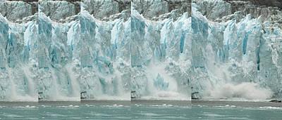 Glacier Calving Sequence 2 V1 Poster