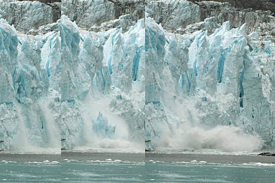 Glacier Calving Sequence 2 V2 Poster