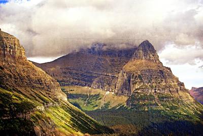 Glacier Mountain Landscape Poster