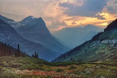 Glacier National Park Poster by Donald Schwartz