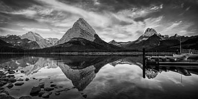 Glacier Park Panorama Poster by Andrew Soundarajan