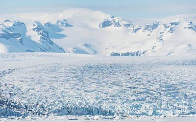 Glacier Patterns Poster by Svetlana Sewell