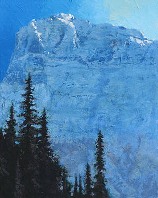 Glacier Peak II Poster by Robert Bissett