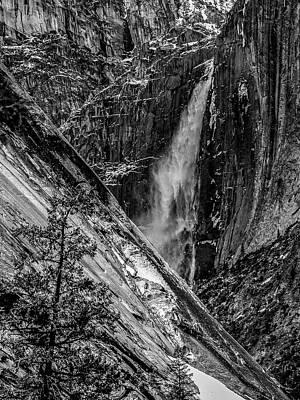 Glacier Point And Yosemite Falls Poster