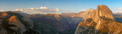 Glacier Point Panorama Poster