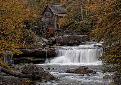 Glade Creek Mill 2011 Poster by Wade Aiken