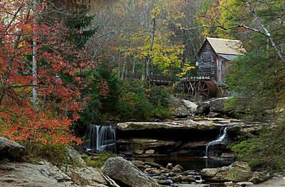 Glade Creek Mill Poster by Jonas Wingfield