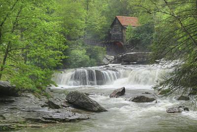 Glade Creek Waterfalls Poster