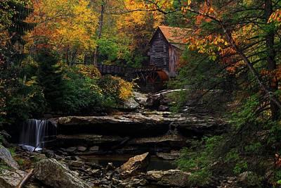 Glades Creek Grist Mill West Virginia Poster