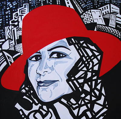Glafira Rosales In The Red Hat Poster
