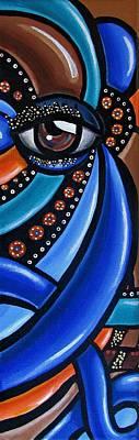 Glamorous - Abstract Painting - Eye Art - Ai P. Nilson Poster