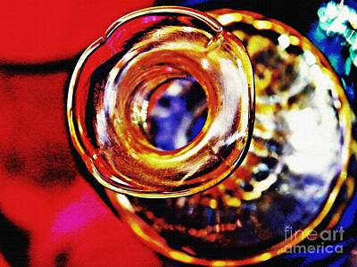 Glass Abstract 635 Poster