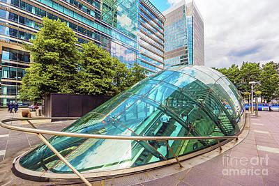 Glass Architecture Poster