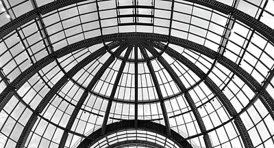 Poster featuring the photograph Glass Dome by Corinne Rhode