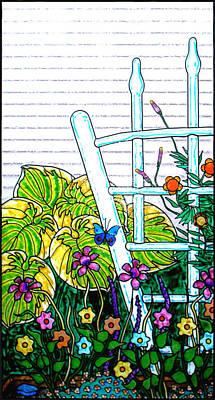 Glass Garden Left Poster