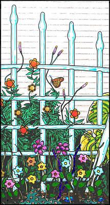 Glass Garden Right Poster