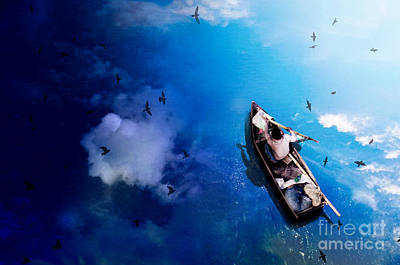 Glass River Poster by Rabib Amin