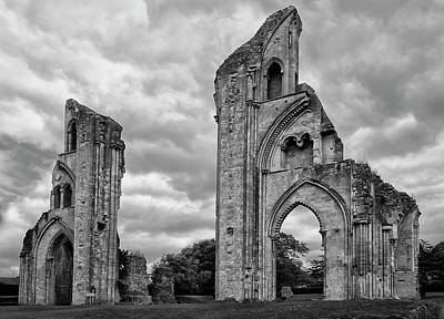 Poster featuring the photograph Glastonbury Abbey by Elvira Butler
