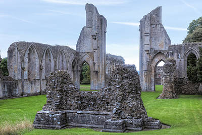 Glastonbury Abbey - England Poster
