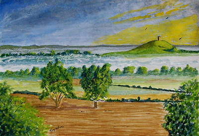 Glastonbury Tor Somerset Poster by Tony Williams