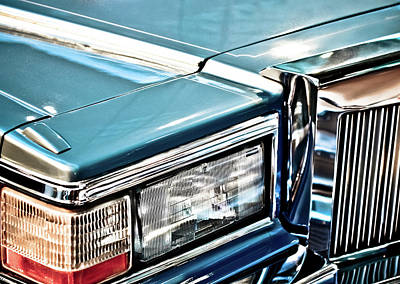 Gleaming 80s Cadillac Poster by Mr Doomits