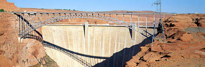 Glen Canyon Dam, Page, Arizona Poster by Panoramic Images
