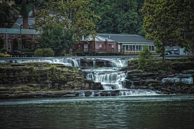 Glen Farris On The Falls Poster