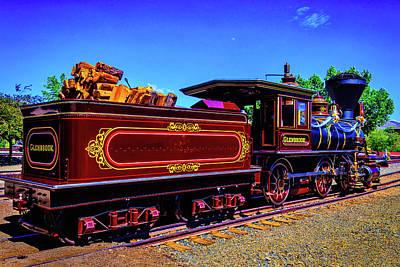 Glenbrook Ginerbread Train Poster