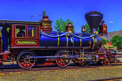 Glenbrook Train Carson City Poster