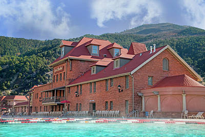 Glendwood Hot Springs Colorado  Poster by Betsy Knapp