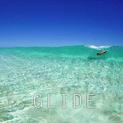 Glide Poster