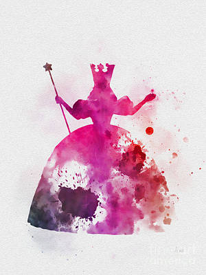 Glinda The Good Witch Poster by Rebecca Jenkins