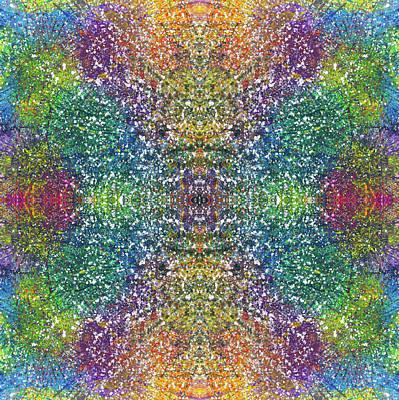 Global Positive Energy Express #1335 Poster by Rainbow Artist Orlando L aka Kevin Orlando Lau