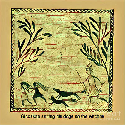 Glooscap And The Witches Poster