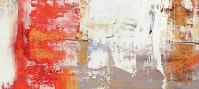 Glorious Mess - Bright Abstract Painting Poster by Modern Art Prints
