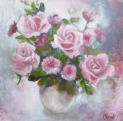 Glorious Roses Poster by Chris Hobel