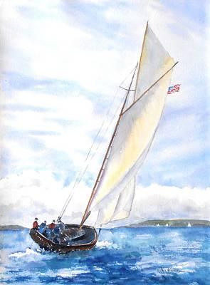 Glorious Sail Poster