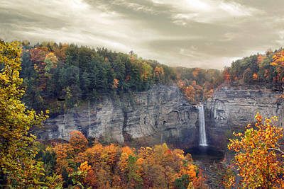 Glory Of Taughannock Poster