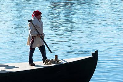 Glover's Boatman Poster by Steven Richman
